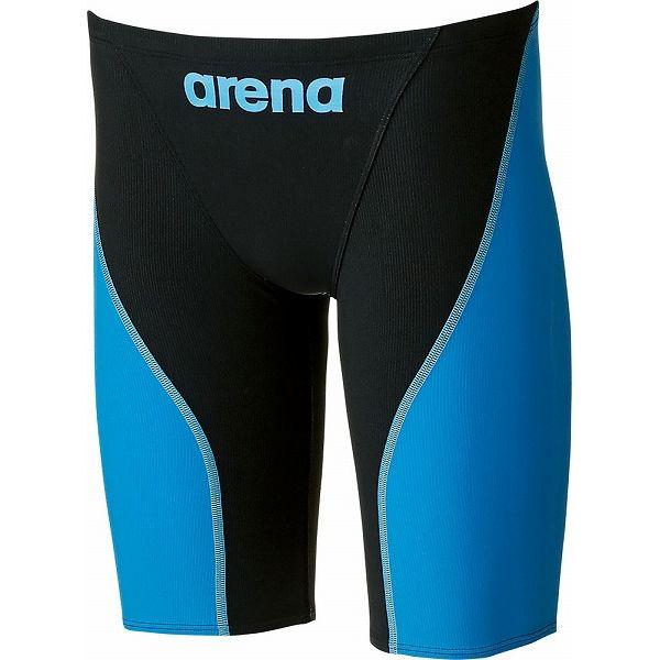 ARENA(アリーナ) AQUAFORCE FUSION-2 ジュニアハーフスパッツ ARN7011MJ 【カラー】ブラック×ブルー【送料無料】