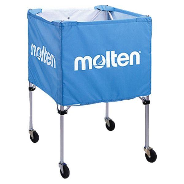 モルテン(Molten) 折りたたみ式ボールカゴ(屋外用)サックス BK20HOTSK【送料無料】【S1】