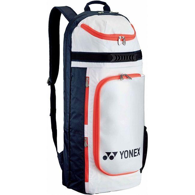 Yonex(ヨネックス) ACTIVE SERIES ラケットリュック(テニスラケット2本用) BAG1729 【カラー】ホワイト×ネイビー【送料無料】