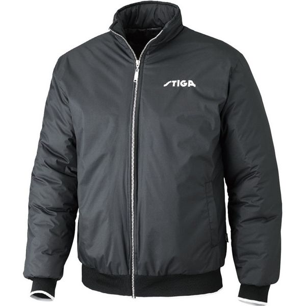 STIGA(スティガ) 卓球アウター SEASON JACKET シーズンジャケット ブラック 4XL 1862190110【送料無料】:リコメン堂
