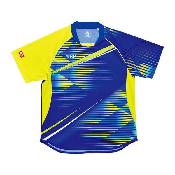 TSP 卓球ゲームシャツ クラッセシャツ(男女兼用) 031425 【カラー】ブルー 【サイズ】3XL【送料無料】【S1】