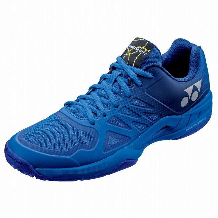 Yonex 【サイズ】23.5 テニスシューズ POWER CUSHION AERUSDASH 2 AC SHTAD2AC 【カラー】ブルー