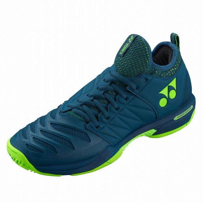 Yonex 【サイズ】22.5 テニスシューズ POWER CUSHION FUSIONREV3 MEN AC SHTF3MAC 【カラー】ネイビーブルー【S1】