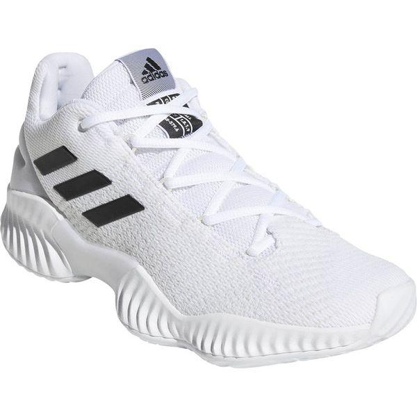 アディダス バスケット シューズ 23.5cm Basketball PRO BOUNCE 2018 LOW ホワイト×コアブラック×クリスタルホワイト BB7410【送料無料】