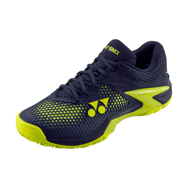 YONEX テニスシューズ パワークッションエクリプション2メンAC オールコート用 カラー 【ネイビー×イエロー】 サイズ【25.5】【送料無料】