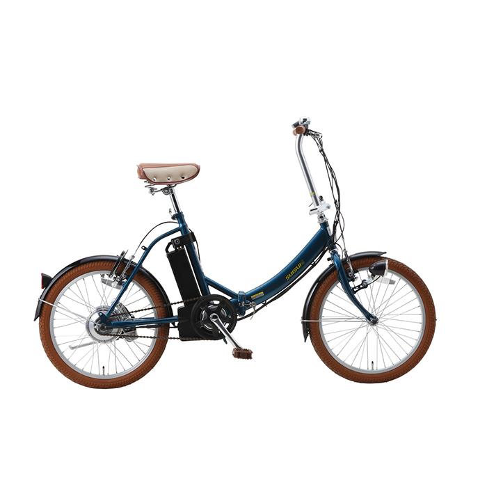 スイスイ 電動アシスト自転車 20インチ 折りたたみ BM-E50NV ネイビー ロック・ライト付(代引不可)【送料無料】