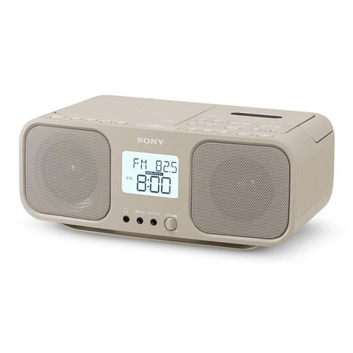 SONY CDラジカセ cfd-s401tic ベージュ CDラジオカセット レコーダー シンプル ラジオ 録音 簡単 コンパクト ワイドFM【送料無料】