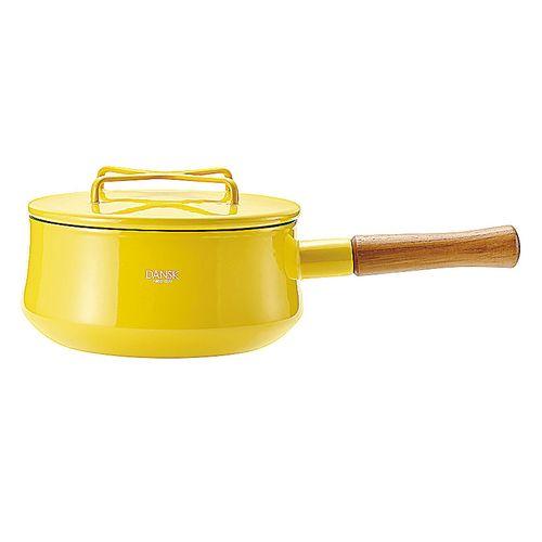ダンスク コベンスタイル 片手鍋 18cm イエロー ADV1504