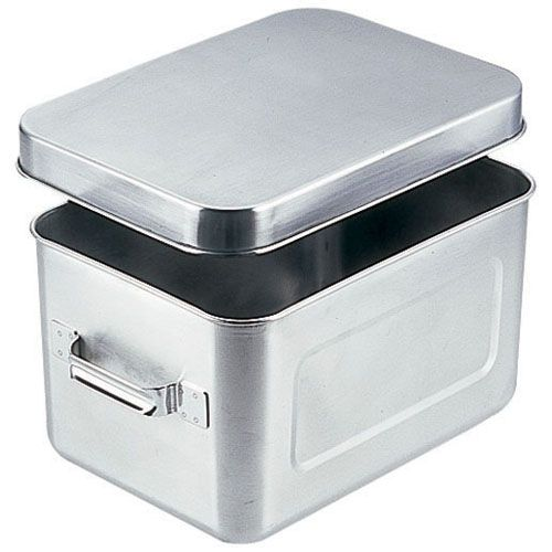 オオイ金属 18-8保温・保冷バット マイルドボックス サラダ用 7l(蓋付)004 ABTA9【送料無料】