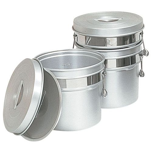 オオイ金属 アルマイト段付二重食缶 248R (12l) ASY74248【送料無料】