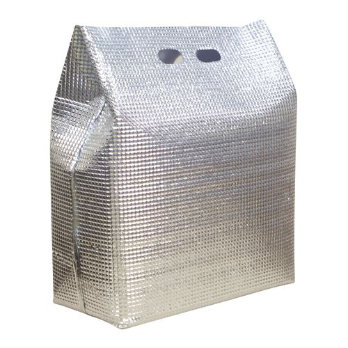 新日本ケミカル 保冷・保温袋 アルバック 自立式袋 (50枚入) LWサイズ AAL2903【送料無料】