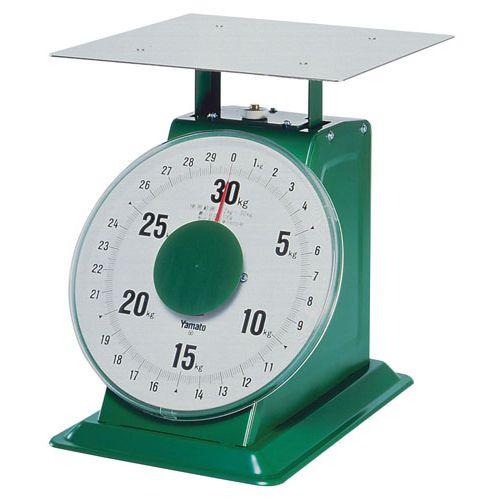 ヤマト 上皿自動はかり「特大型」 平皿付 SD-30 30kg BHK6830