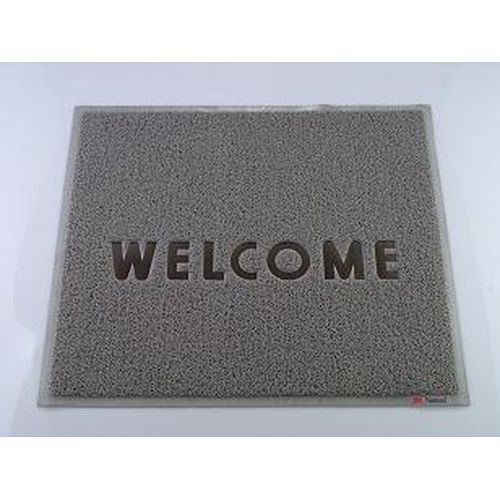 3M 文字入マット WELCOME グレー KMT1319D