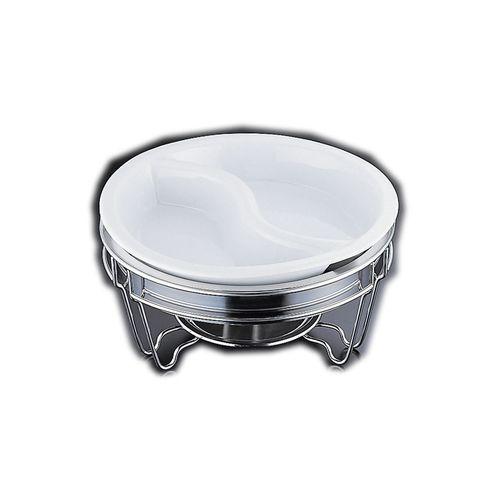 ヴァンセンヌ 丸チェーフイング MF仕様 陶器S仕切中皿 目皿付 NTEM101【送料無料】