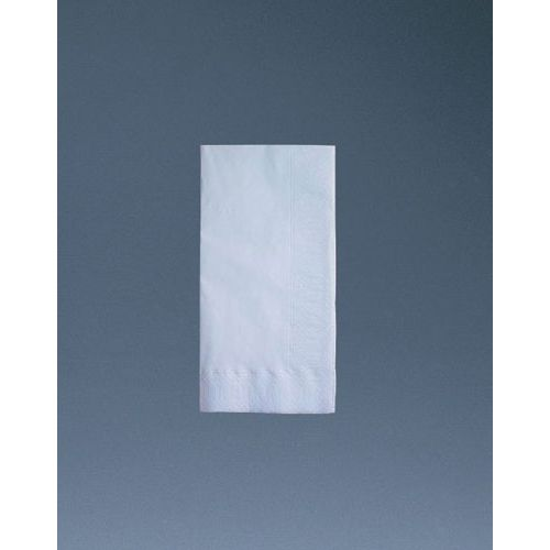 HARADA ナプキン 白無地 8ッ折 2ply 45×45cm(2,000枚入) PNP0701