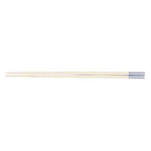 福井クラフト PBT和洋中角箸 シルバー(10膳入) 白 85915550 TTY3601【送料無料】
