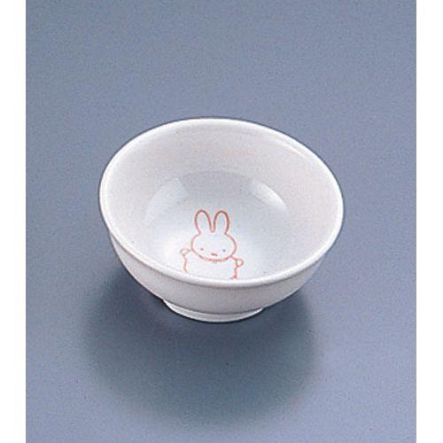 関東プラスチック メラミンお子様用弁当シリーズ ミッフィー MAN-030P 丸小鉢 RMLI301