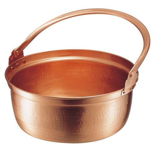 遠藤商事 銅 山菜鍋(内側錫引きなし) 36cm ASV01036