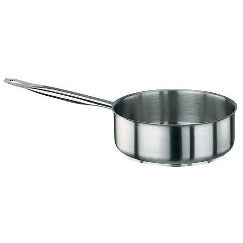 PADERNO(パデルノ) 18-10片手浅型鍋 (蓋無) 1008-36 AKTA036【送料無料】