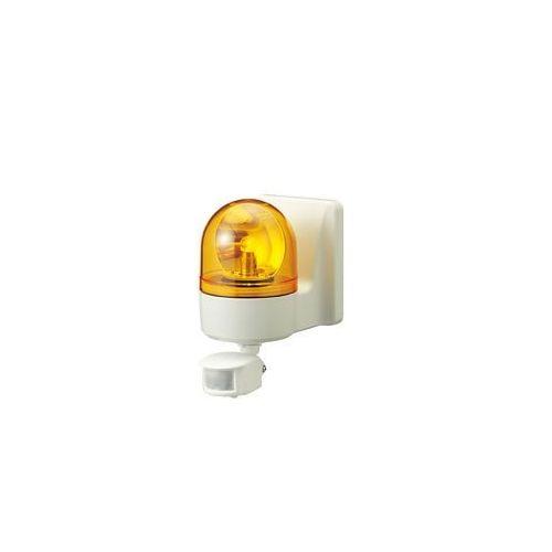 パトライト 壁面取付け小型回転灯黄 WHSB-100A-Y