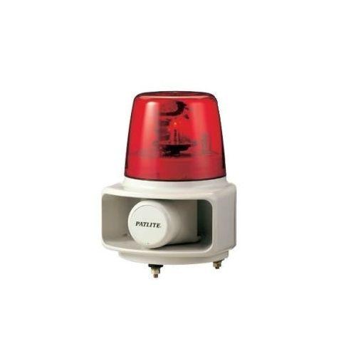 パトライト 電子音回転灯赤 RT-24A-R