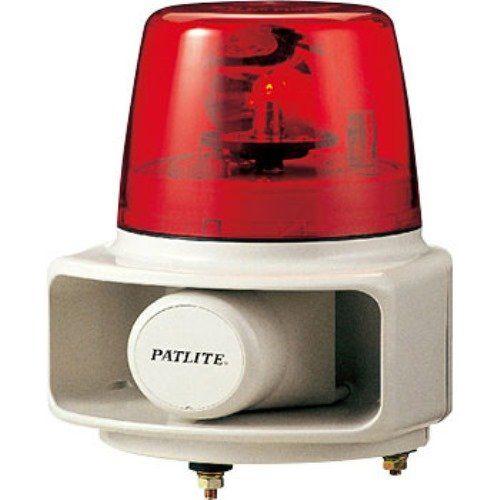パトライト 電子音回転灯赤 RT-24C-R