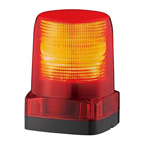 パトライト LEDフラッシュ表示灯赤 LFH-M2-R
