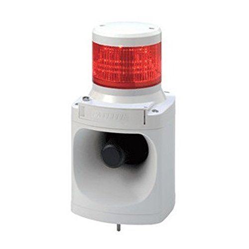 パトライト LED信号灯付電子音報知器赤 LKEH-102FA-R