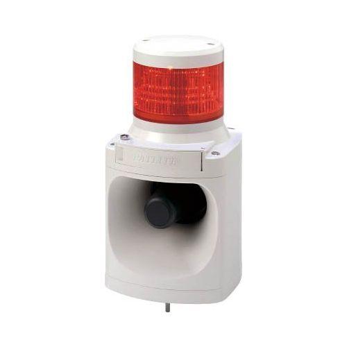 パトライト LED信号灯付電子音報知器赤 LKEH-120FA-R