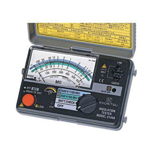 共立電気 アナログ2レンジ絶縁抵抗計 3144A