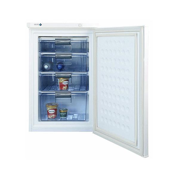 ノーフロスト アップライトフリーザー 冷凍庫 85L FFU85R 直冷式 前開き 1ドア(代引不可)【送料無料】