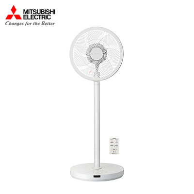 三菱 扇風機 R30J-DW-W 三菱電機(MITSUBISHI) リビング扇風機 SEASONS ピュアホワイト DCモーター搭載 /リモコン付き【送料無料】