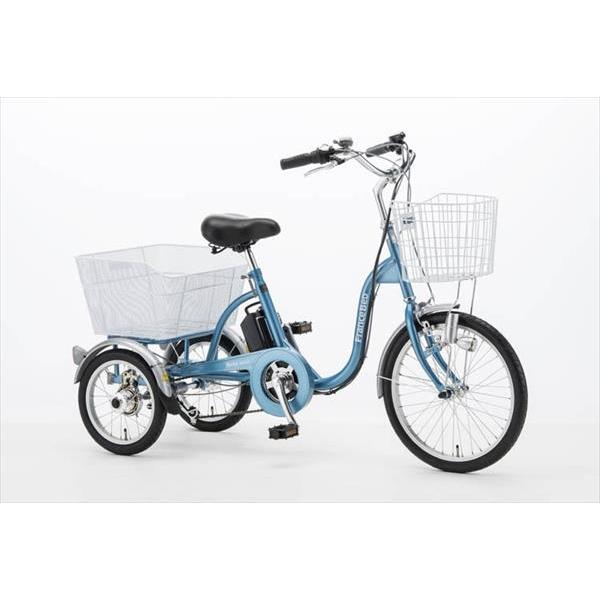 フランスベッド 電動アシスト三輪自転車 ブルー ASU-3W01-KO 電動 自転車(代引不可)【送料無料】