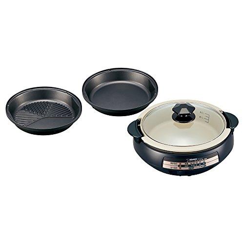 象印 グリル鍋 あじまる EP-PX30-TA ブラウン 電気鍋 なべ2個+プレート1枚【送料無料】