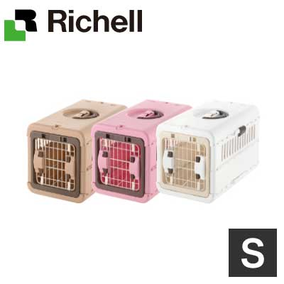 送料無料 Richell セールSALE%OFF リッチェル キャンピングキャリー折りたたみS ブラウン BR 超小型犬 P 安心の定価販売 ピンク 猫 ペット用