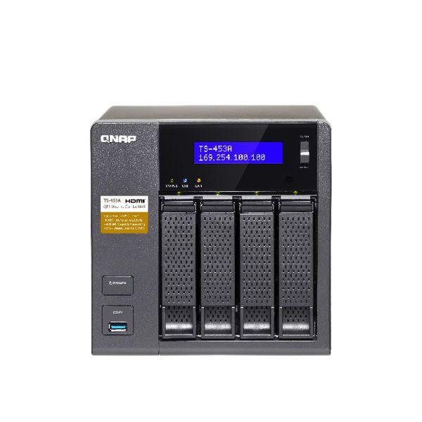 QNAP TS-453A 12TB HDD (ミドルハイ 3TB HDD x 4) T453A4MH30()