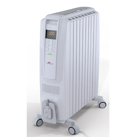 デロンギ オイルヒーター 10~13畳 QSD0915-WH ホワイト(代引不可)【送料無料】