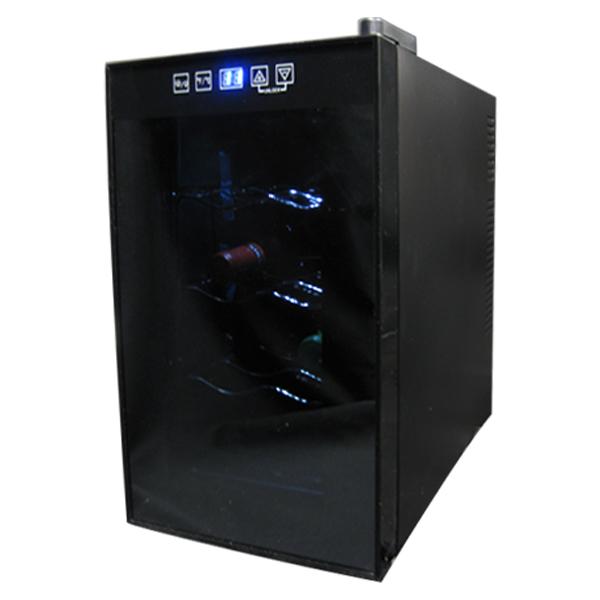 送料無料 8本収納ワインセラー ワインセラー 温度調節機能付き 温度調節 8本収納 静音設計 定番 代引不可 ワイン 家庭用 贈呈 右開き