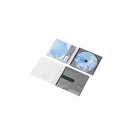 エレコム 優先配送 CD DVD用スリム収納ソフトケース CCD-DPC30BK 代引き不可 希望者のみラッピング無料