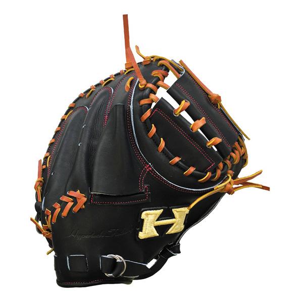 ハイゴールド HI-GOLD PAG-213M 硬式キャッチャーミット ブラック/タン 野球 一般硬式用【送料無料】