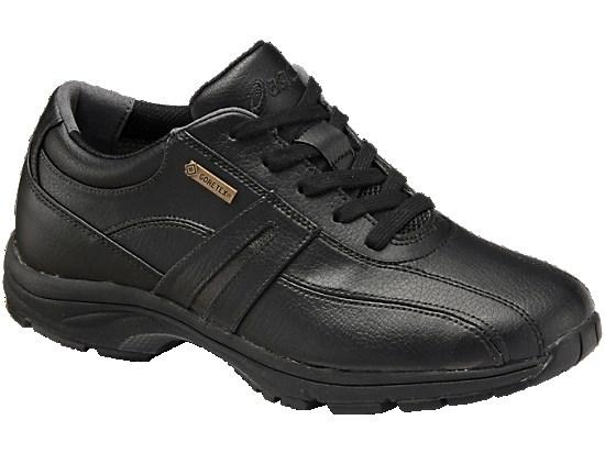 アシックス ウォーキングシューズ FIELDWALKER SS G-TX(W) フィールドウォーカー TDH327 カラー:ブラック×ブラック(9090)