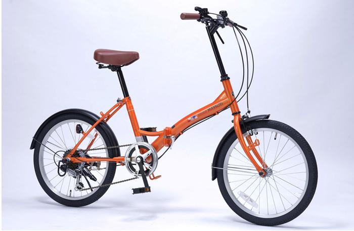 マイパラス MYPALLAS 折りたたみ自転車 20インチ M-209 4色 6段ギア付(代引不可)【送料無料】