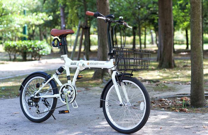マイパラス 自転車 20インチ 6段ギア 折りたたみ SC-07 PLUS 4色(代引不可)【送料無料】