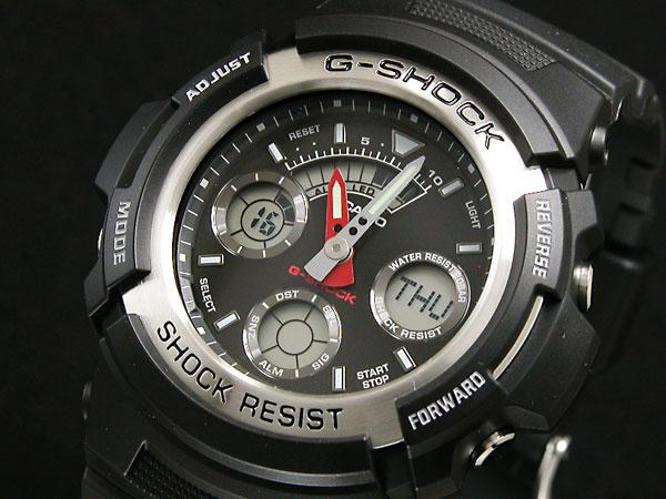 カシオ Gショック CASIO 腕時計 アナデジ AW590-1A
