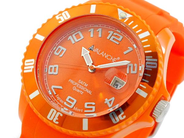 大規模セール ラッピング無料 アバランチ AVALANCHE メンズ AV-100S-OR-44 時計 腕時計 人気