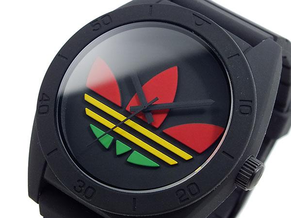 アディダス ADIDAS サンティアゴ 腕時計 ADH2789 ブラック×ラスタ