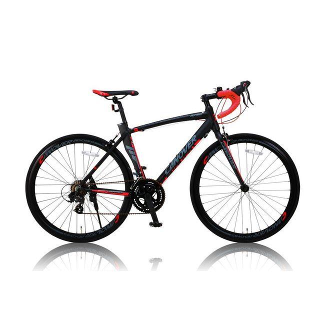 CANOVERR カノーバ― ロードバイク CAR-012 ADOONIS ブラック(代引不可)【送料無料】
