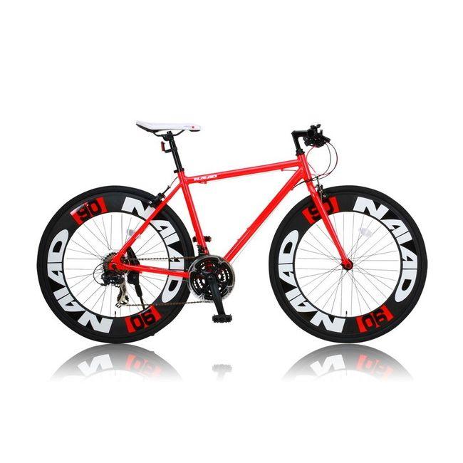 CANOVERR カノーバ― クロスバイク CAC-023 NAIAD レッド(代引不可)【送料無料】