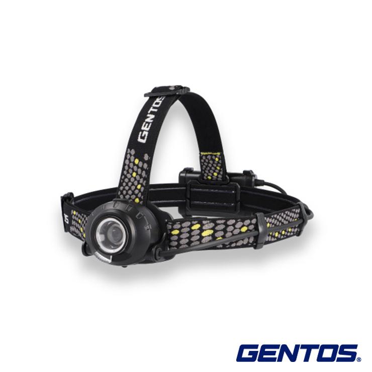 送料無料 GENTOS ジェントス LEDヘッドライト ヘッドウォーズ HLP-2103 耐塵 防滴 可動式 ヘッド 後部 アウトドア 認識 現場 充電池 新入荷 流行 夜間 工場 乾電池 災害 価格 安全 兼用