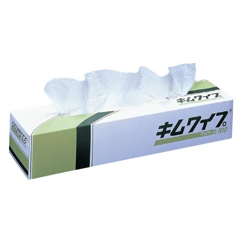 日本製紙クレシア 使い勝手の良い キムワイプ 格安SALEスタート L-100 62001 入数:100枚 箱